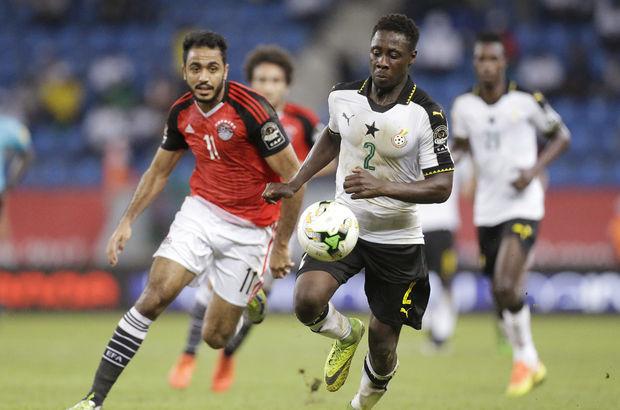 Mısır ve Gana çeyrek finalde