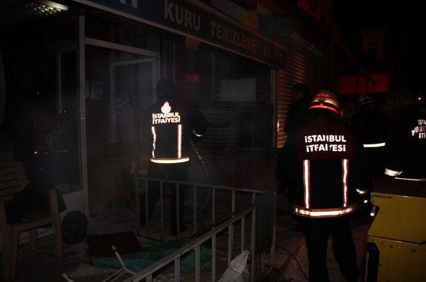 Ataşehir'de kimyasal madde paniği