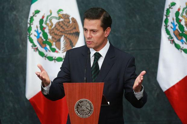 Meksika Devlet Başkanı Nieto: Meksika hiçbir duvar için para ödemeyecek