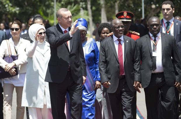 Cumhurbaşkanı  Erdoğan Recep Tayyip Erdoğan yurda döndü