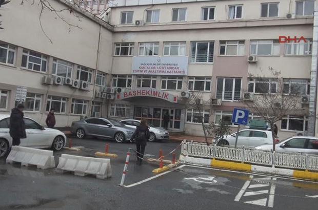 SON DAKİKA! Kartal Devlet Hastanesi'nde silahlı şahıs paniği
