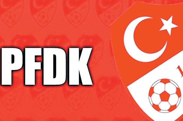 PFDK cezaları açıklandı!