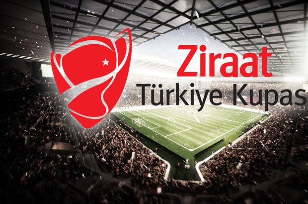 Ziraat Türkiye Kupası son 16 turunda eşleşmeler belli oldu