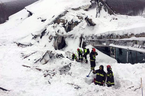İtalya'daki çığ felaketinde 29 kişi öldü