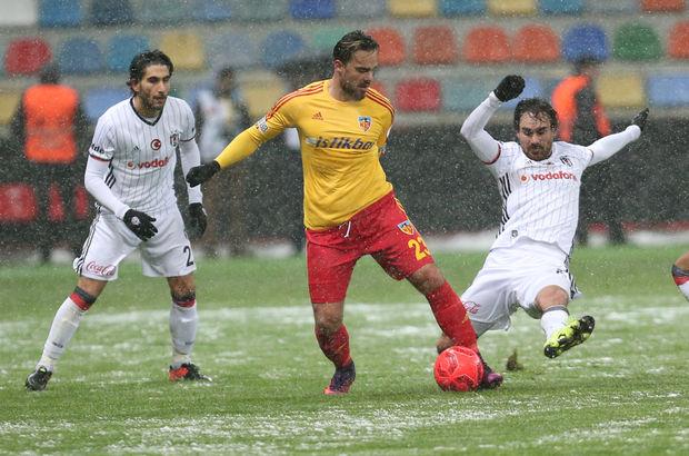 Kayserispor: 1 - Beşiktaş: 1   MAÇ SONUCU