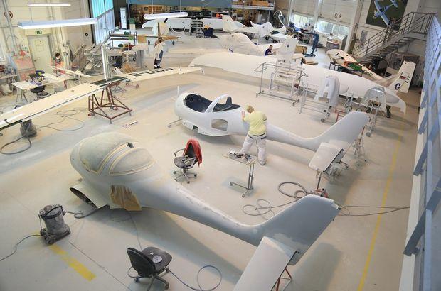 Bursa'da yapılan yerli uçak 'Türk kartalı' üretiminde sona gelindi