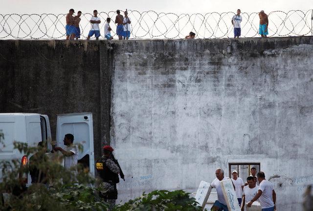 Brezilyalı mahkûmlar birbirini yemiş