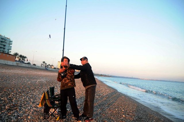 Çift kol nakilli Mustafa Sağır: Güzel günlere olta sallıyorum