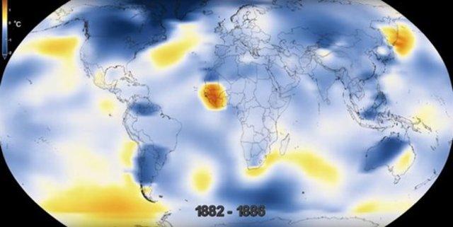 Dünya 136 yılda böyle değişti!