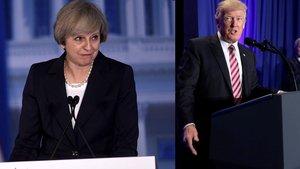 İngiltere Başbakanı Theresa May'den Donald Trump'a Rusya uyarısı