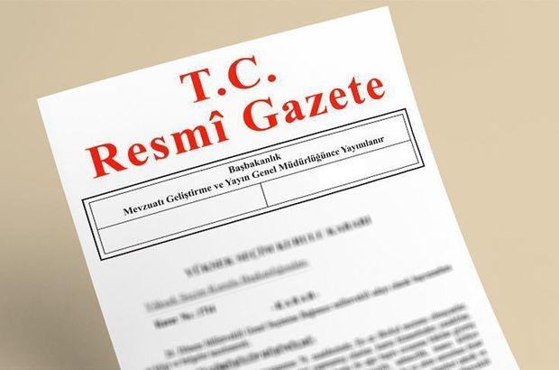 Bakanlıklara atama kararları Resmi Gazete'de