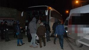 Tokat'ta freni boşalan otobüste yolcular ölümden döndü