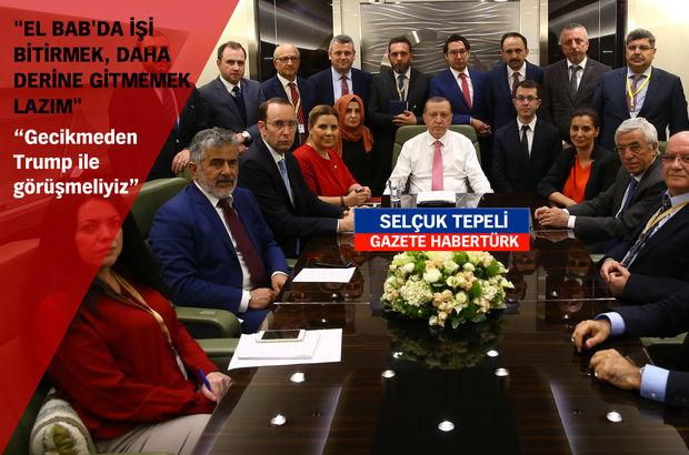Cumhurbaşkanı Erdoğan: Türkiye-ABD ilişkilerini sağlıklı hale getirmeliyiz