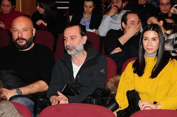 Ahu Yağtu, Ayhan Bozkurt ve Tolga Tekin'le birlikte ilk kez objektiflere takıldı