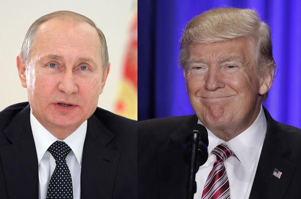 Putin'le Trump ilk kez görüşecek