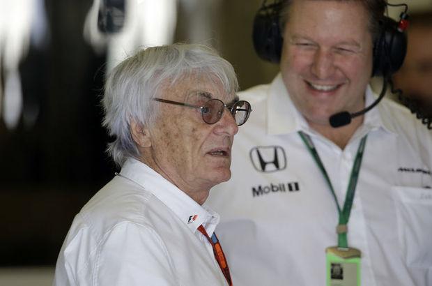 Formula 1'de Ecclestone devri bitti