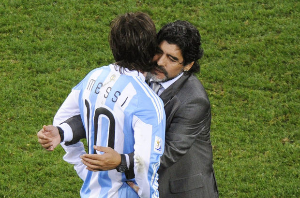 Diego Armando Maradona Lionel Messi
