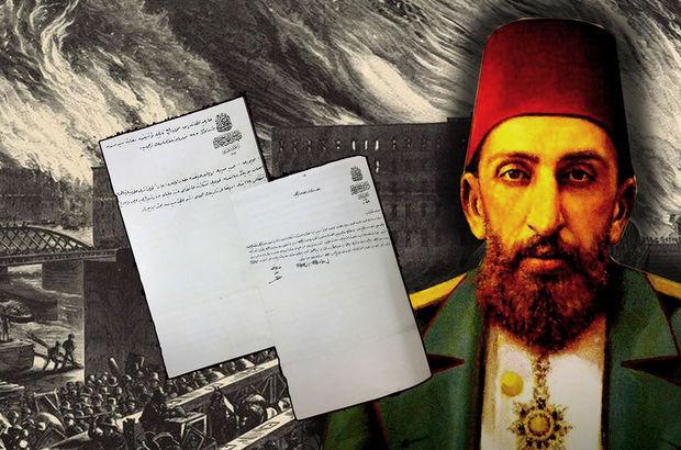 2. Abdülhamid'in ABD'ye yardımı belgelendi