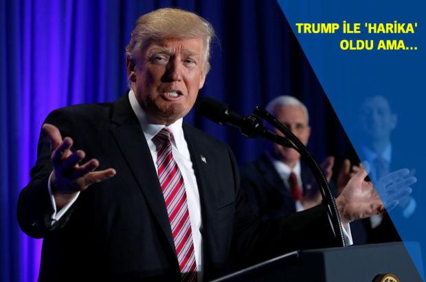 Dow Jones, Trump ile 'harika' oldu