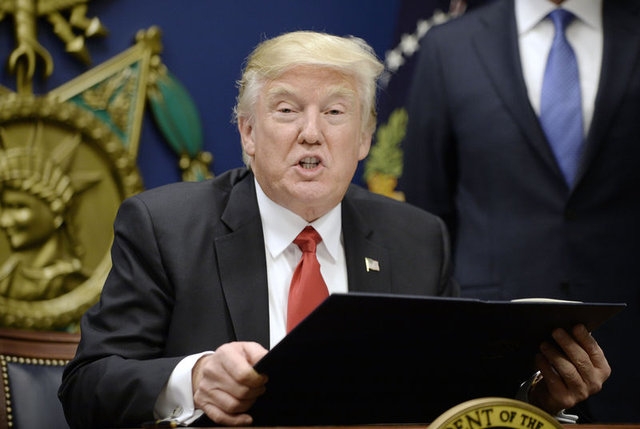 ABD Başkanı Donald Trump görevinin ilk haftası bunları yaptı