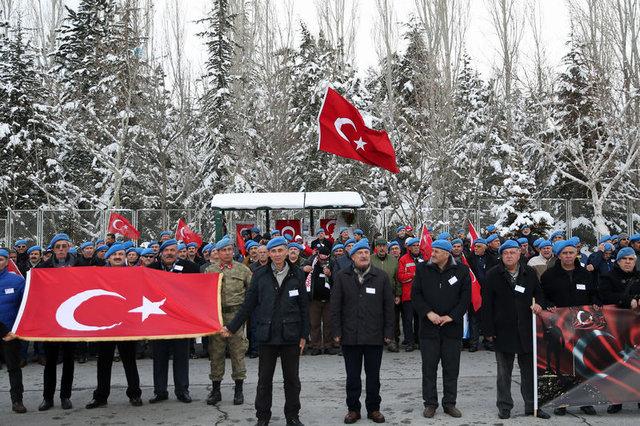 Kayseri'de 14 şehit veren tugayın eski askerlerinden vefa