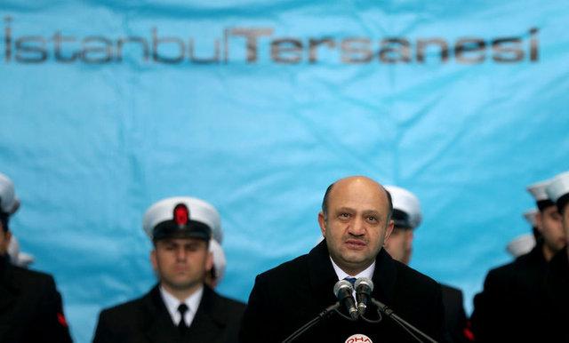 TCG Alemdar'ın teslim töreni yapıldı