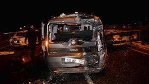 Ordu'da zincirleme kaza: 1 ölü, 5 yaralı
