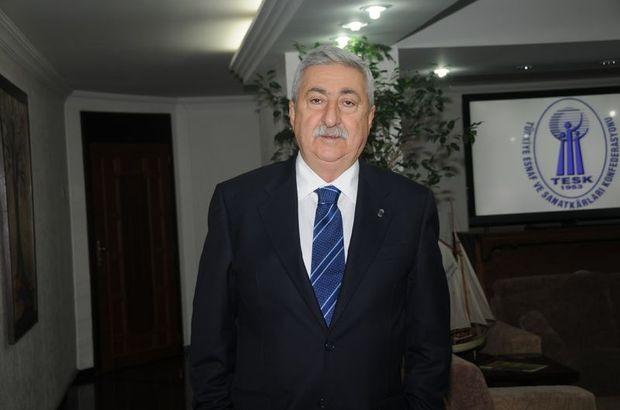 TESK Başkanı Palandöken sicil affına dair önemli açıklamalarda bulundu
