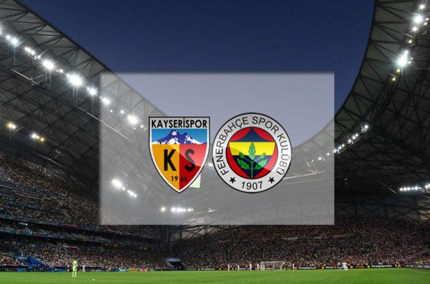 Kayserispor - Fenerbahçe maçı hangi kanalda, saat kaçta, ne zaman?