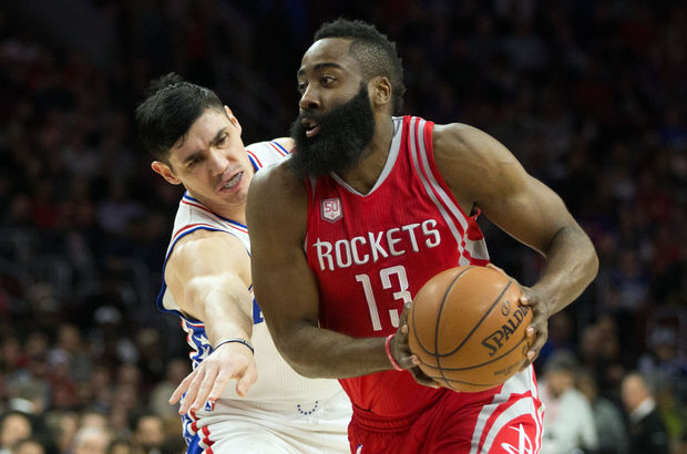 Houston Rockets'ı James Harden uçurdu
