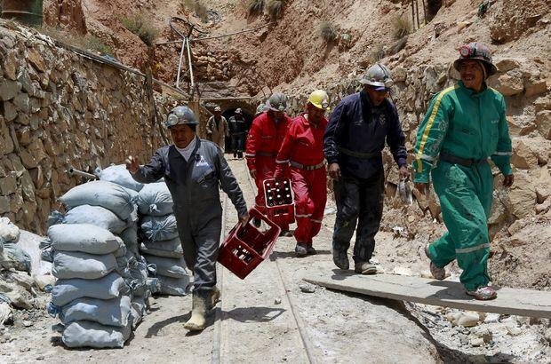 Bolivya'da rehin alınan madenciler kurtarıldı