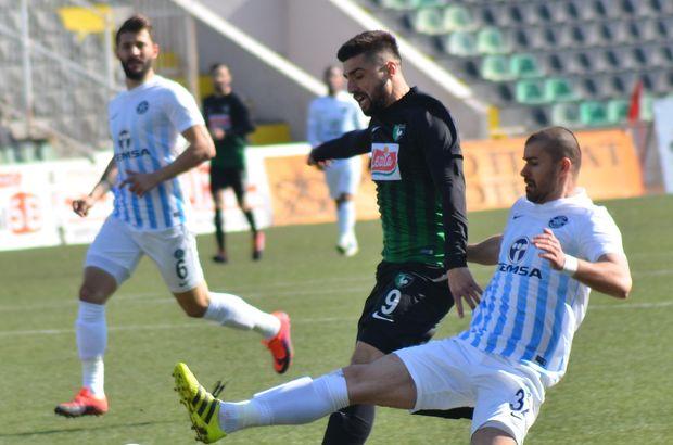 Denizlispor: 1 - Adana Demirspor: 1   MAÇ SONUCU