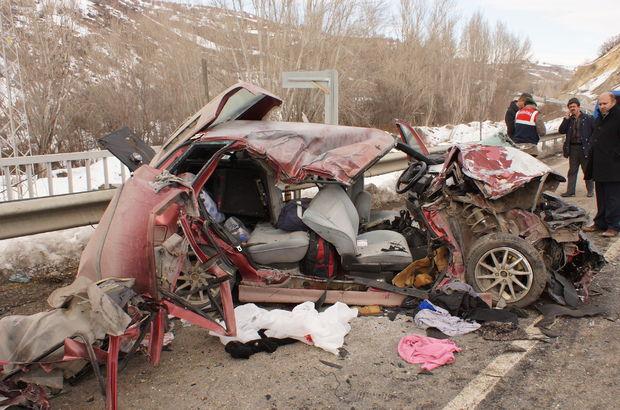 Ankara'da korkunç kaza: 3 ölü 3 yaralı