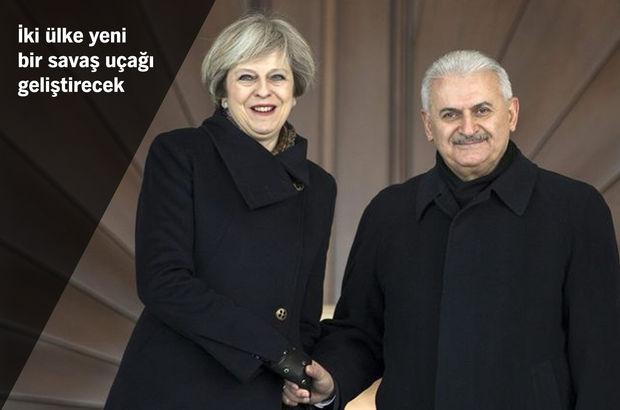 Başbakan Yıldırım ile Theresa May ortak açıklama yaptı