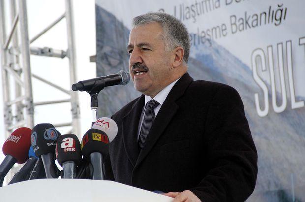 Ulaştırma Bakanı Ahmet Arslan'dan hızlı tren  müjdesi