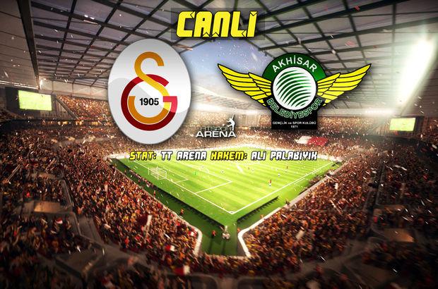 Galatasaray: 6 - Akhisar Belediye: 0   MAÇ SONUCU