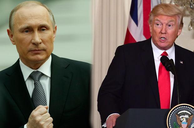 Trump ve Putin'den ilk görüşme!
