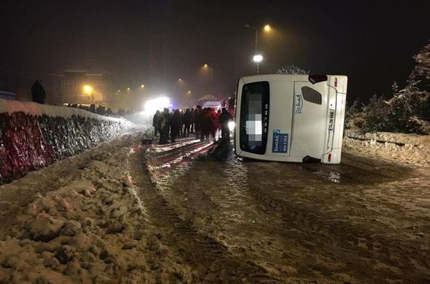 Bartın'da yolcu otobüsü devrildi: 2 ölü, 5 yaralı