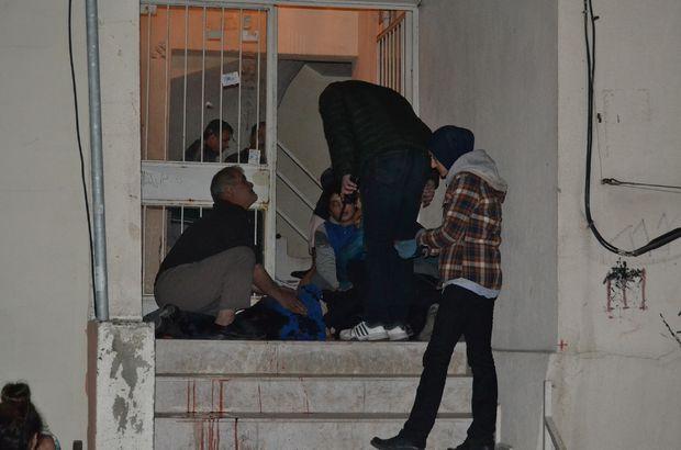 Manisa'da kar maskeli saldırgan dehşet saçtı