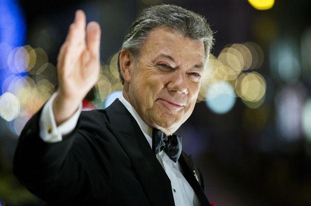 Kolombiya Devlet Başkanı Santos: Dünya hayranlıkla izliyor