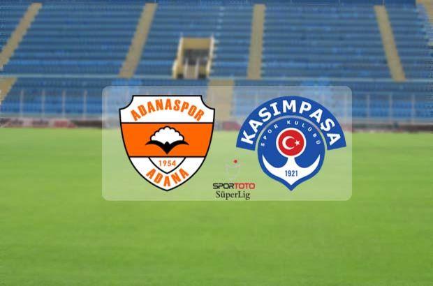 Adanaspor Kasımpaşa maçı ne zaman, saat kaçta, hangi kanalda?