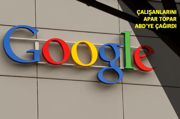 Trump'ın baskısıyla Google, çalışanları ABD'ye geri çağırdı