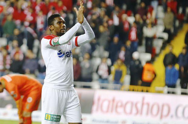 Samuel Eto'o 8 gole ulaştı