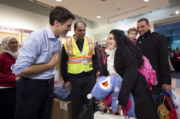 Trudeau'dan mültecilere: Kanada'ya hoşgeldiniz