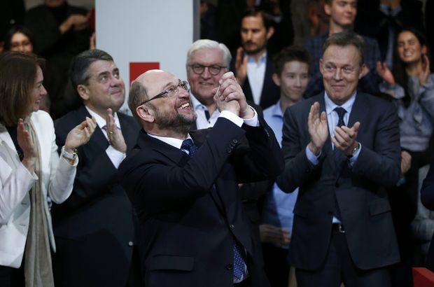 Schulz'un Merkel'in rakibi olacağı kesinleşti!