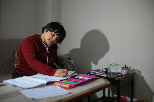 Arzu Özbek annesinin son isteğini yerine getirerek okumayı söktü!