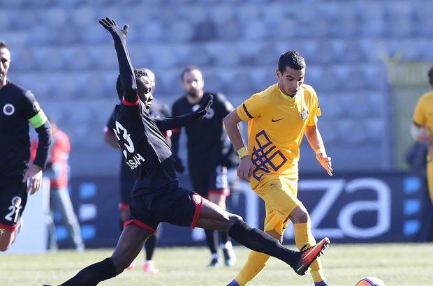 Gençlerbirliği: 1 - Osmanlıspor: 1 | MAÇ SONUCU