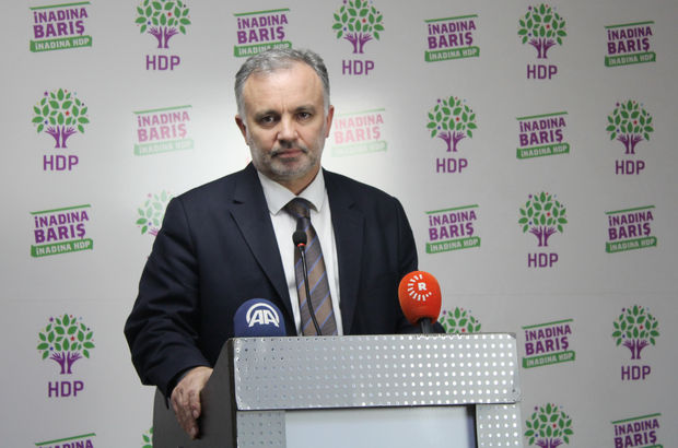 Ankara'da gözaltına alınan HDP Sözcüsü Ayhan Bilgen serbest