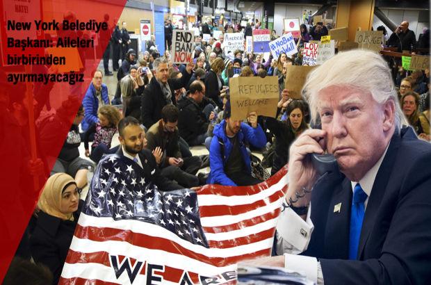 ABD'de federal mahkeme Trump'ın göçmen kararını askıya aldı