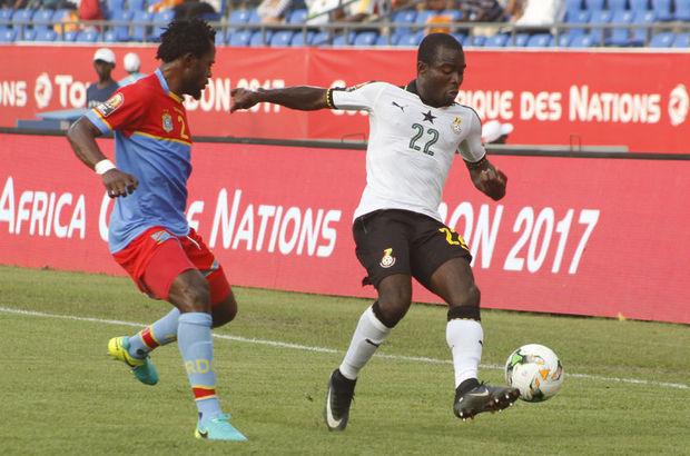 Demokratik Kongo Cumhuriyeti: 1 - Gana: 2